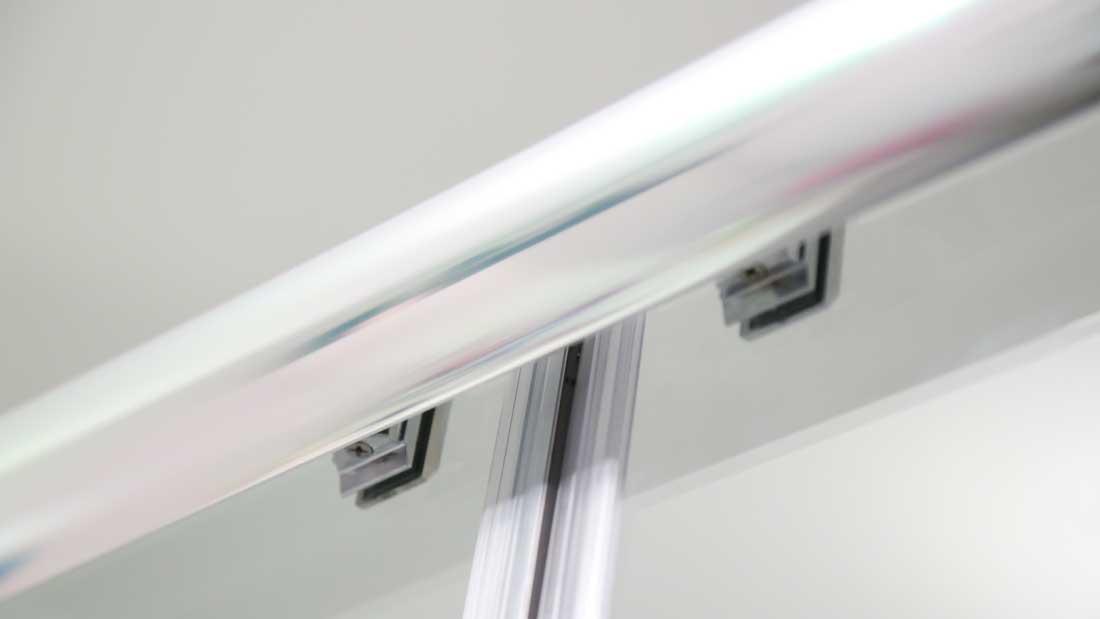 Cabine de douche porte coulissante 2 vantaux 160cm 170cm - Profile pour porte coulissante ...