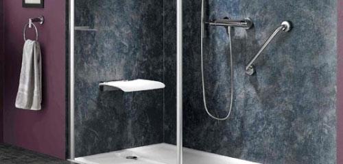 douche italienne remplacer baignoire par une douche plain pied. Black Bedroom Furniture Sets. Home Design Ideas