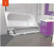 tuyaux cabine de douche integrale lapeyre kinedo. Black Bedroom Furniture Sets. Home Design Ideas